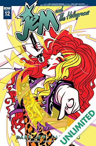 Jem and the Holograms (2015-) #12